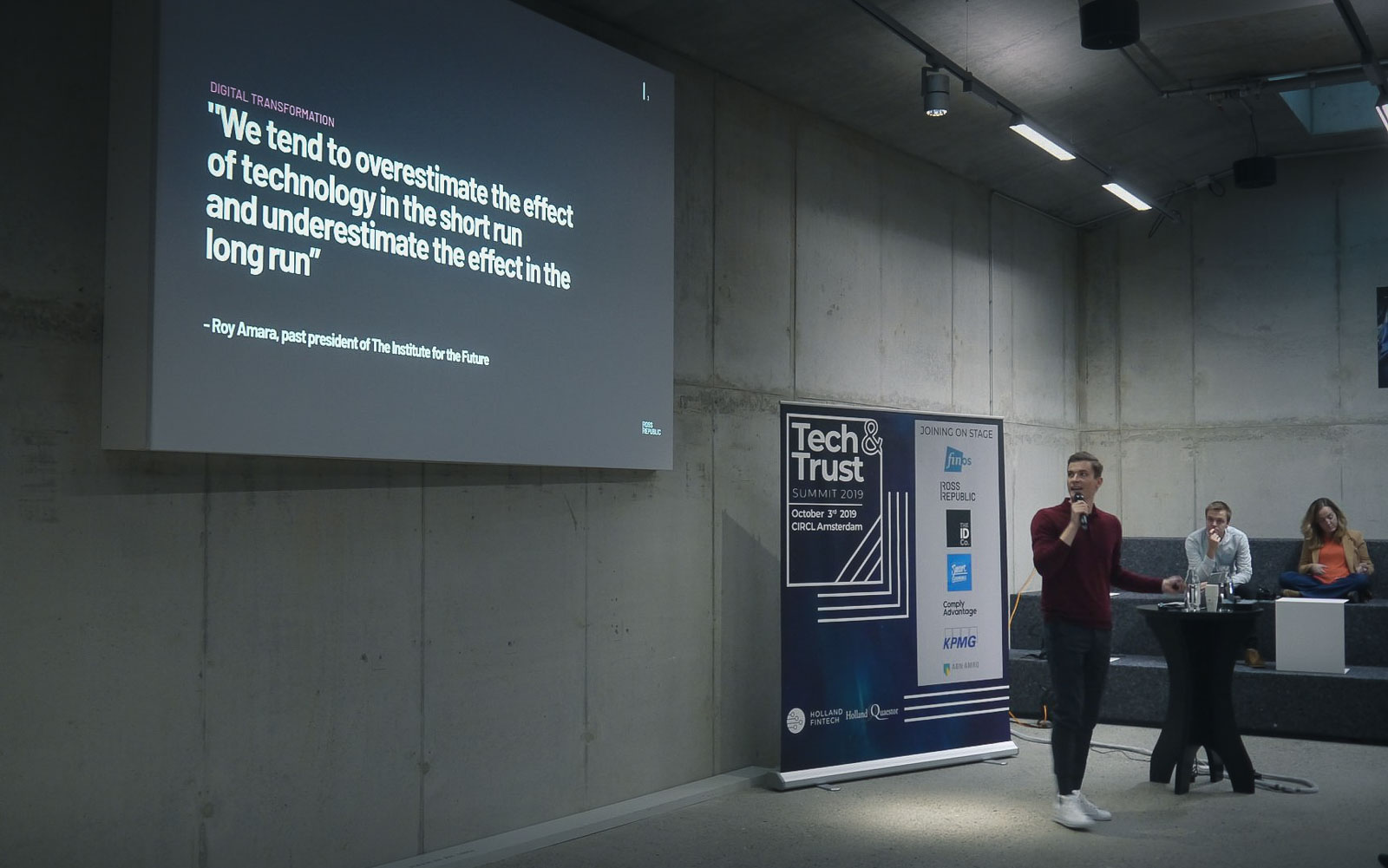 Recap Tech & Trust Summit Amsterdam by Holland Fintech