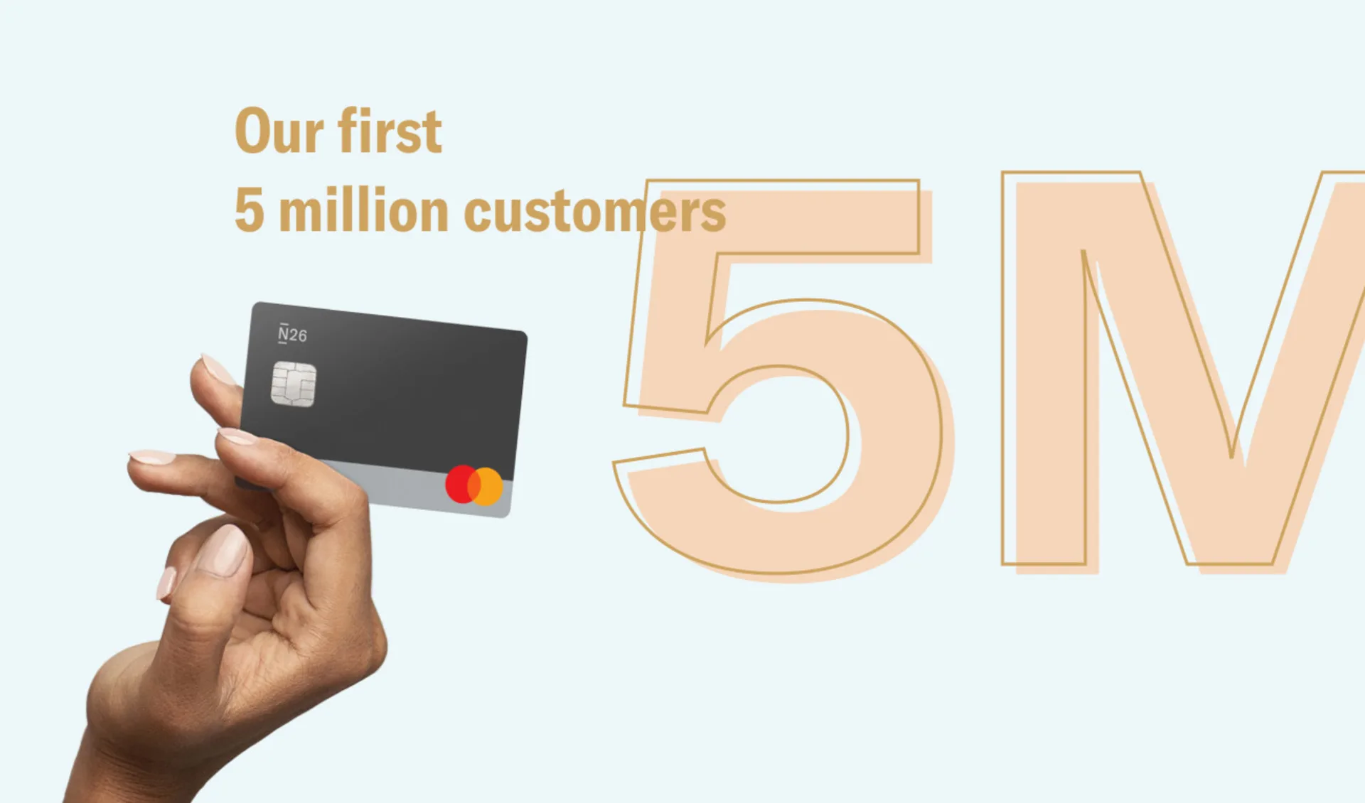 N26 reaches 5 million customers